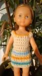 Réf : CC0021 - Robe aux 4 couleurs pour poupée chéries ou Paola Reina dans Habits pour poupées Chéries robe-aux-4-couleurs-84x150