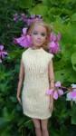Réf : B0653 - Robe jaune pour Barbie dans Habits pour Barbie 0021-84x150