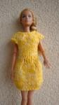 Réf : B0656 - Robe jaune pour Barbie dans Habits pour Barbie DSC03226-84x150