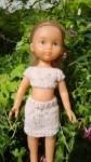 Réf : CC0038 - Ensemble marron moucheté pour poupée chéries  dans Habits pour poupées Chéries DSC03973-84x150