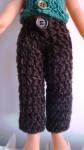 Réf : CC0070 - Pantalon marron pour poupée chéries dans Habits pour poupées Chéries 007-84x150